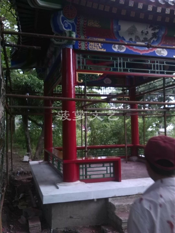 古建彩绘-苏州白马寺-1