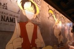 杭州墙绘-菠萝文艺-日本料理店-2