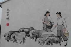 江阴墙绘-勤科农牧生态养殖场-5