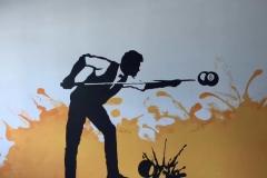 南通墙绘-菠萝文艺-健身房-6