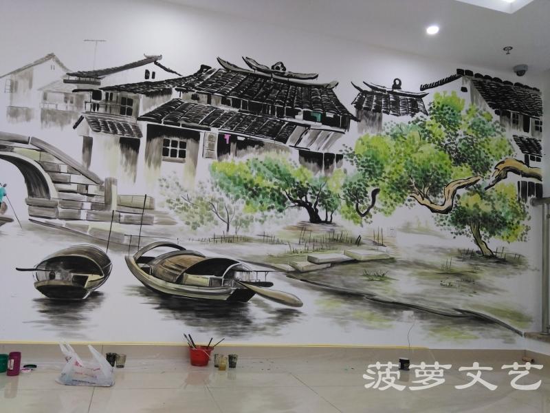 苏州墙绘-菠萝文艺-同济医院-5