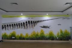 苏州墙绘-菠萝文艺-同济医院-1