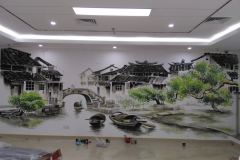 苏州墙绘-菠萝文艺-同济医院-6