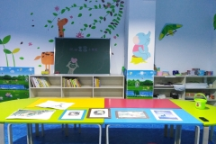 无锡墙绘-菠萝文艺-宝龙广场美术教室-1