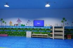 无锡墙绘-菠萝文艺-宝龙广场美术教室-3