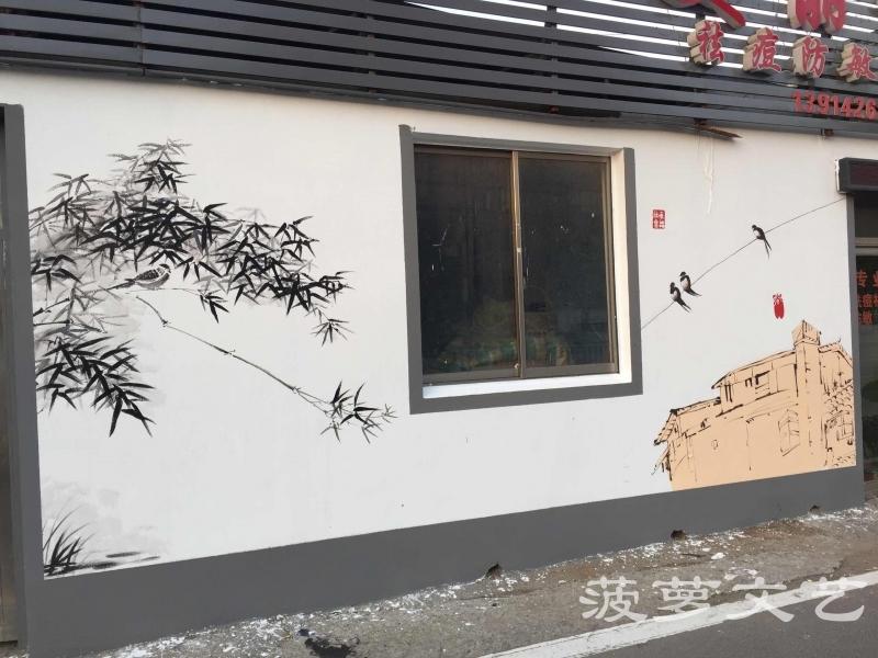 菠萝文艺-无锡东港外墙墙绘-5