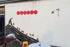 菠萝文艺-无锡东港外墙墙绘-6
