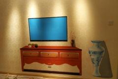 无锡墙绘-菠萝文艺-金科样板房-10