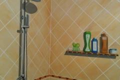 无锡墙绘-菠萝文艺-金科样板房-16
