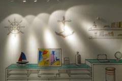 无锡墙绘-菠萝文艺-金科样板房-2