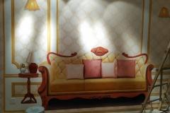 无锡墙绘-菠萝文艺-金科样板房-4