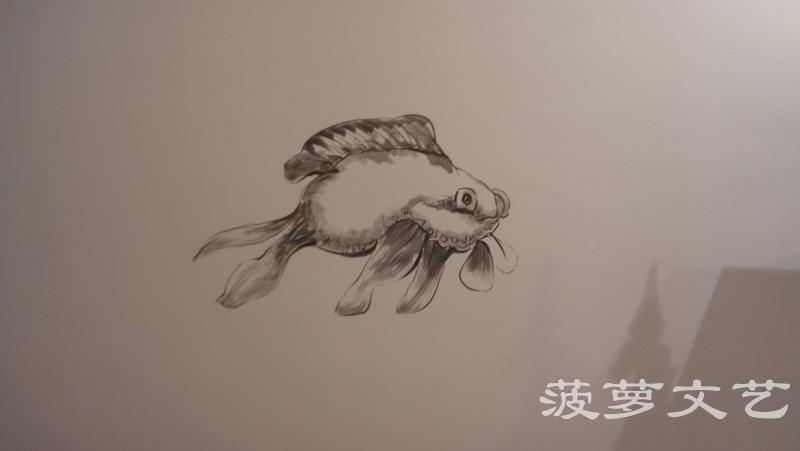 无锡墙绘-菠萝文艺-米娜服装店-3