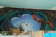 无锡墙绘-菠萝文艺-胜利门海底世界-11