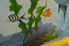 无锡墙绘-菠萝文艺-胜利门海底世界-3
