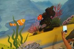 无锡墙绘-菠萝文艺-胜利门海底世界-4