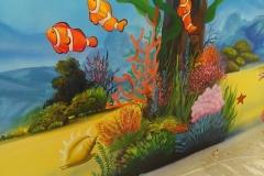 无锡墙绘-菠萝文艺-胜利门海底世界-6