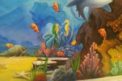 无锡墙绘-菠萝文艺-胜利门海底世界-7