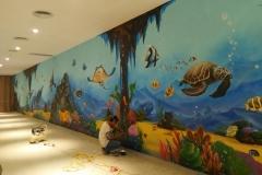 无锡墙绘-菠萝文艺-胜利门海底世界-9