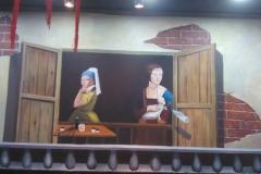 无锡墙绘-菠萝文艺-玩儿面馆-5