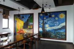 油画墙绘实景-1