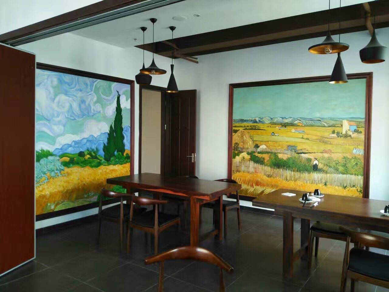 墙绘-油画