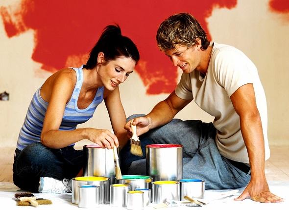 墙绘-夫妻合作